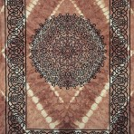Celtic Print with Fringe- TWIN only 70 x 104