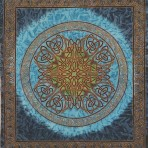 Celtic Knot in Blue (Sean Knot) 68×102